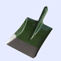 Metal Sturdy Gardening Shovel Iron Weeding Tool Agricultural Tools Square Head Width Shovel Planting Tool Snow Camping Shovel