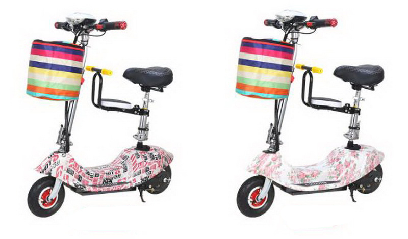 Top 261025/Ladies mini folding car bicycle scooter adult student portable two rounds/Scrub pedal 30-50km/h velo electrique 22