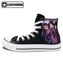 Women Men Converse Chuck Taylor MUSE Design Shoes Man Woman Custom Hand Painted High Top Sneakers Unique Birthday Gifts