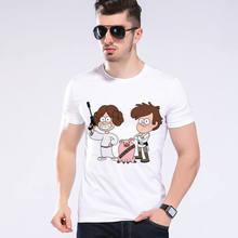 Men Brand Clothing Custom Design Unique Star War T Shirt Summer Fitness Casual Hip Hop T-shirt Short Sleeve Tops Tee L9-H4