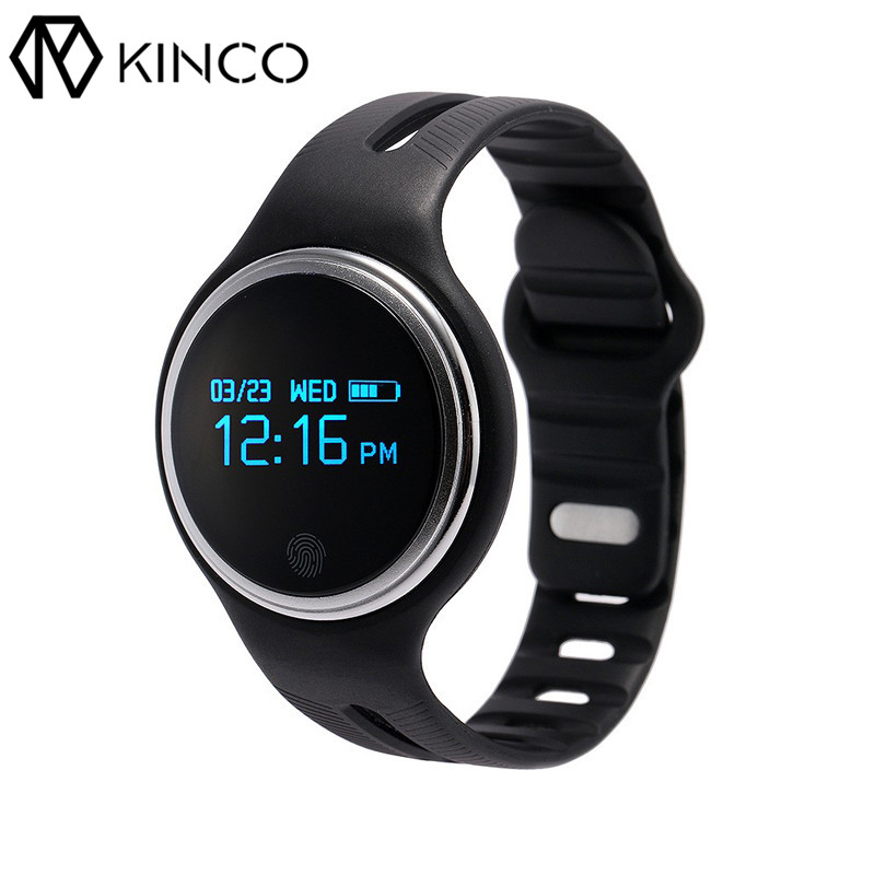 E07 Bluetooth 4 0 Health Rate Monitor Smart Watch IP67 Waterproof Sports Smart Bracelet Wristband For