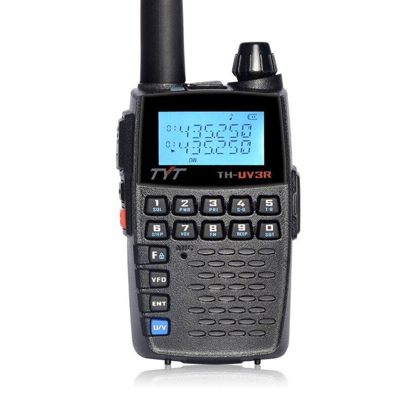 TYT UV-3R Dual Band Two Way Radio VOX VHF/UHF Portable Ham Transmitter Mini Walkie Talkies Repeater Offset Outdoor Intercom