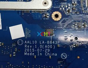 Image 4 - Per Dell Inspiron 17 5459 5559 5759 CN 0T66WJ 0T66WJ T66WJ SR2EY i5 6200U AAL15 LA D071P N16V GM B1 Mainboard della scheda madre Testato