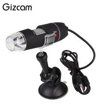 Cheapest prices Gizcam 1000x Mini Digital USB Microscope Magnifier Endoscope Video Camera High Quality Microscopio 40X-1000X Gift for Children
