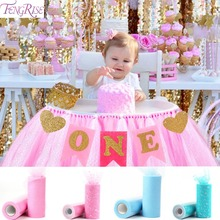 FENGRISE First Birthday Party Decoration 1st Flags Chair Banner I AM ONE Bunting Baby Shower One Year Old New Born