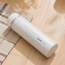 500ml Double Wall Stainless Steel Vacuum Flasks White Thermos Cup Bottle Coffee Thermocup Outdoor Travel Office