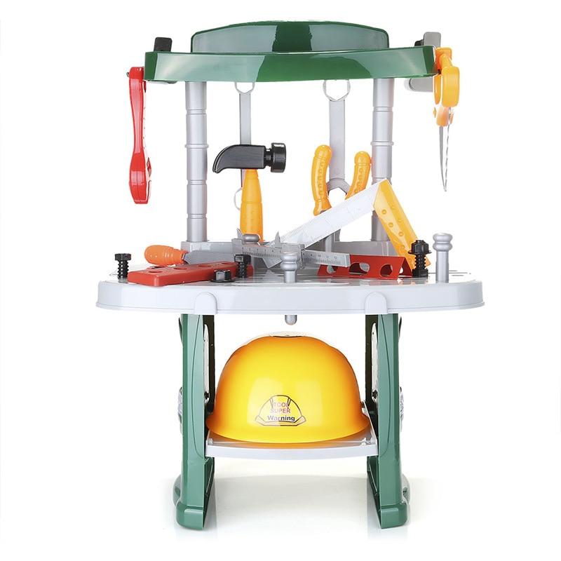Outils de réparation jouets en plastique jouet ensemble d'outils Kit semblant jouer jouets pour enfants enfants garçons cadeau jouets classiques