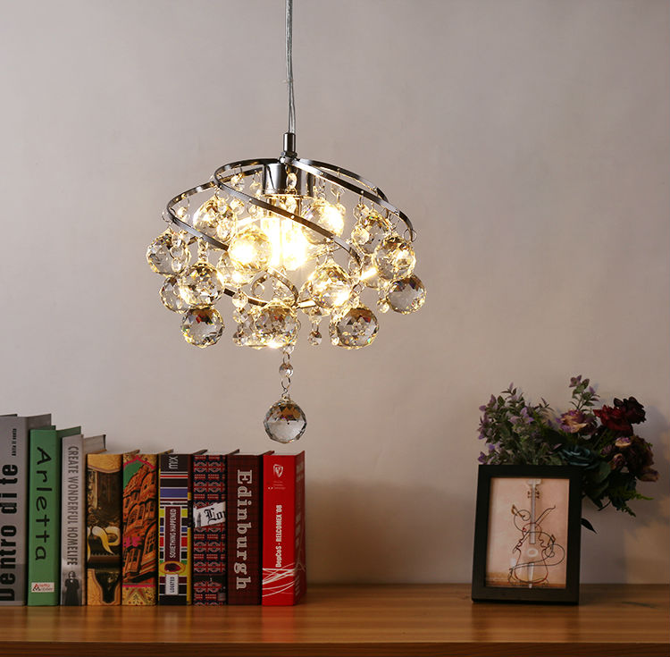 Crystal led ceiling lamp for corridor entrance chandelier bedroom hall stairs aisle European restaurant balcony small modern bright colorful led lamp installed inside the entrance hall light corridor lamp ceiling lamp lamp stunning