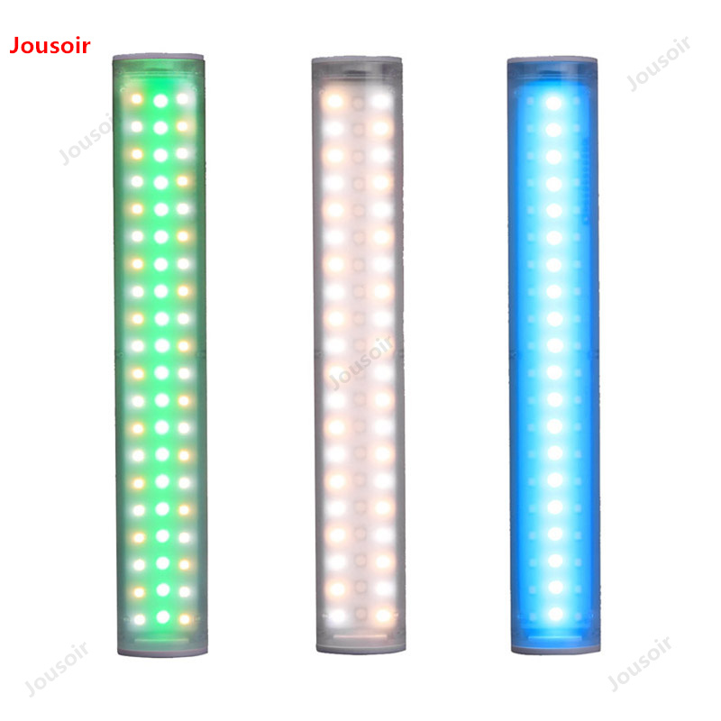 Mini luces de fotografía led lámpara de hielo YN60 batería de litio integrada RGB lámpara de barra de Color completo lámpara de disparo Exterior CD50 T07 - 6