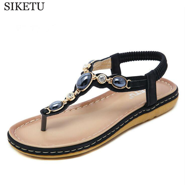 bb671d43f74400 2019 hot Shoes women sandals fashion rhinestone summer shoes women sandals  clip toe women shoes flip flops sandalia feminina c4