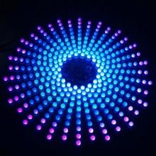 18*18 Аврора led градиент света творческий сварки люкс электронный производства