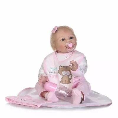 все цены на 55CM Reborn Dolls Soft Silicone Reborn Baby Dolls Girls Princess Alive Newborn Bebe Reborn Menino Toys Gifts Bonecas онлайн