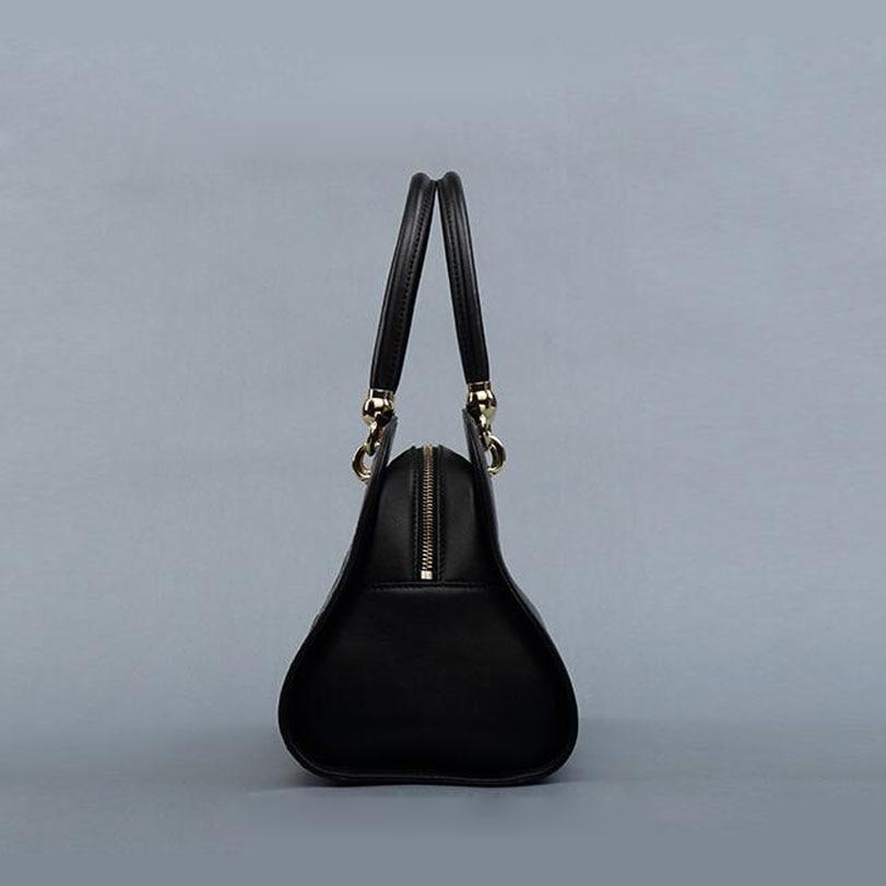 Tasche Black Neue Leder Mode Der Umhängetasche Retro Frühling Ursprünglichen Trend Und Handtasche Sommer Pmsix2017 wOPqSRaA