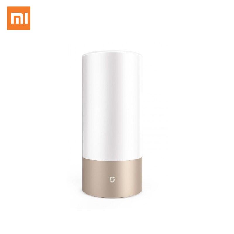 الأصلي Xiaomi Mijia الذكية السرير السرير مصباح واي فاي بلوتوث ثنائي الموديل LED RGBW مسة عملية الرئيسية مي APP مصباح التحكم