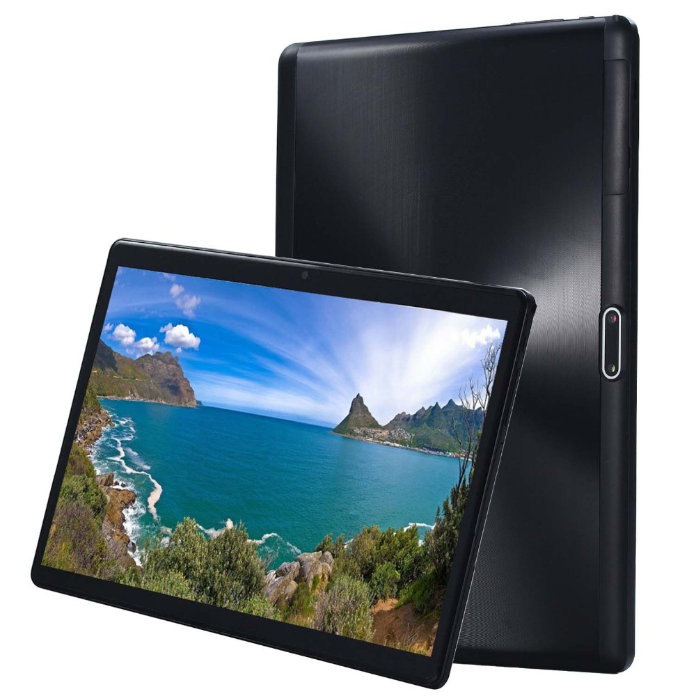 2019 Global Version 10 Inch Tablet 4GB RAM 64GB ROM MTK6797 Deca Core CPU 1920*1200 IPS 8.0MP Android 7.0 4G FDD LTE GPS Tablet