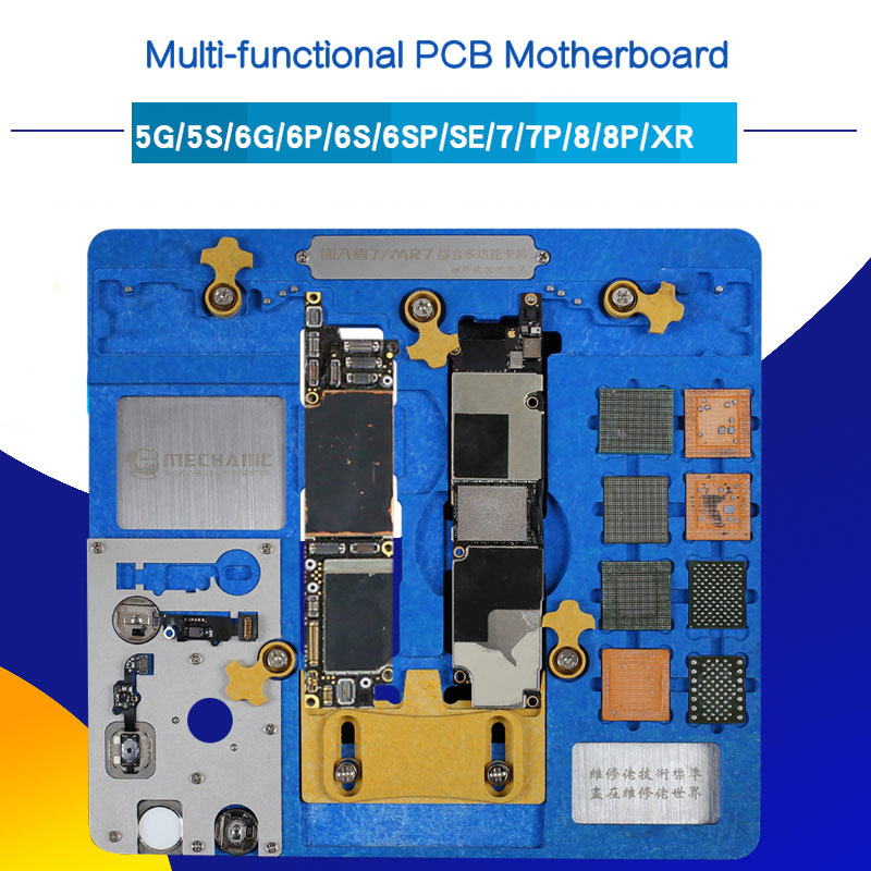 MECHANIC Multi-functional Double-layer Fixture for iPhone A7 A8 A9 A10 A11 A12 NAND PCB Motherboard Holder Fingerprint repairMECHANIC Multi-functional Double-layer Fixture for iPhone A7 A8 A9 A10 A11 A12 NAND PCB Motherboard Holder Fingerprint repair