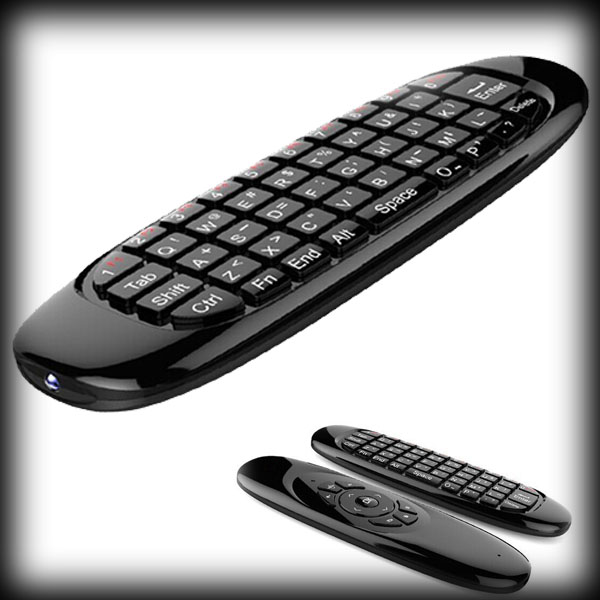 Game-Keyboard Fly-Air-Mouse Remote-Control Wireless Mini Android Sensor T10 by 6axis