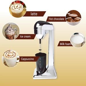Image 4 - Liquidificador elétrico portátil de 220v, para leite, café, liquidificador, multifuncional, coqueteleira, tomada eu