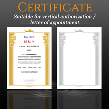 Buy CUCKOO 1pcs Power of Attorney A4 Core Paper Appointment Certificate Paper Customized Creative Stamping Graduation Certificate directly from merchant!