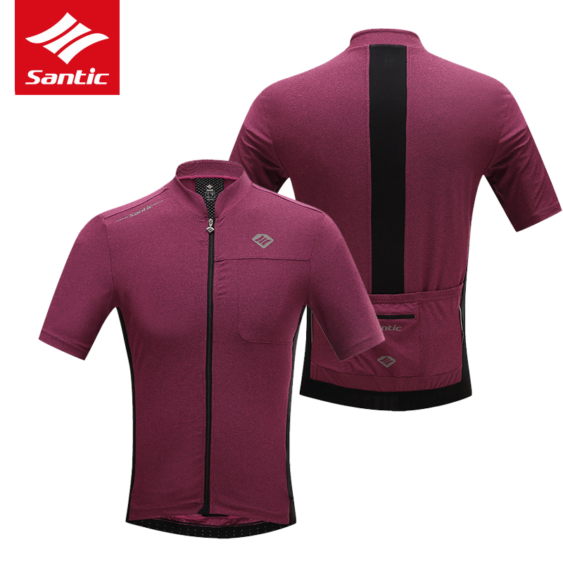 Santic Men Cycling Jersey Comfortable Breathable Pro Racing Team MTB Road Bike Jersey Downhill Bicycle Jersey Ropa Ciclismo 2017 santic men short sleeve cycling jersey breathable summer cycling clothing mtb road downhill bicycle bike jersey anti sweat