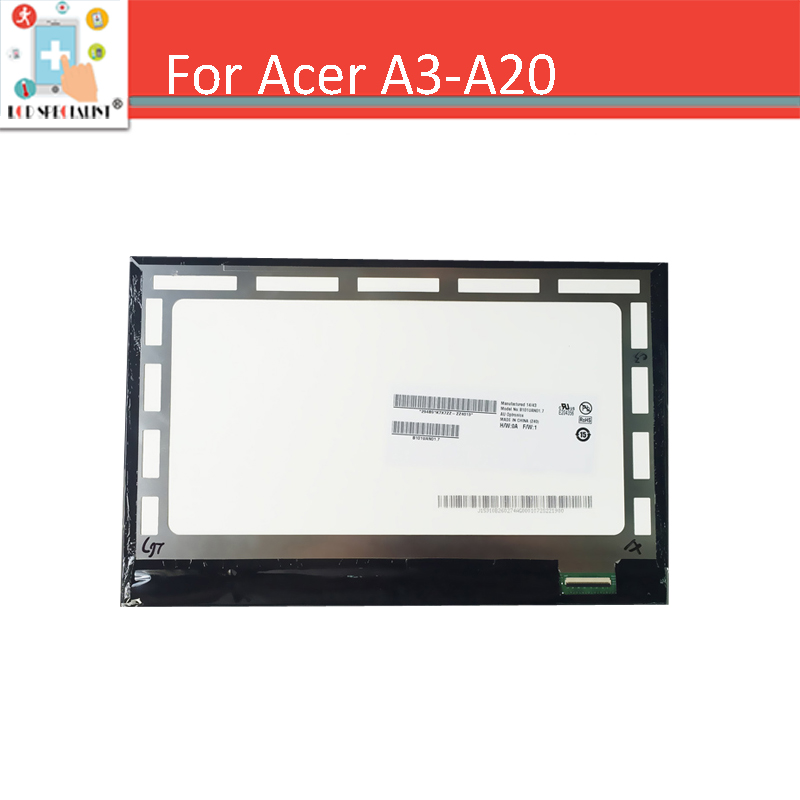 10.1 New Original For Acer Iconia A3-a20 A3 A20 LCD Screen Display Tablet PC Replacement Parts
