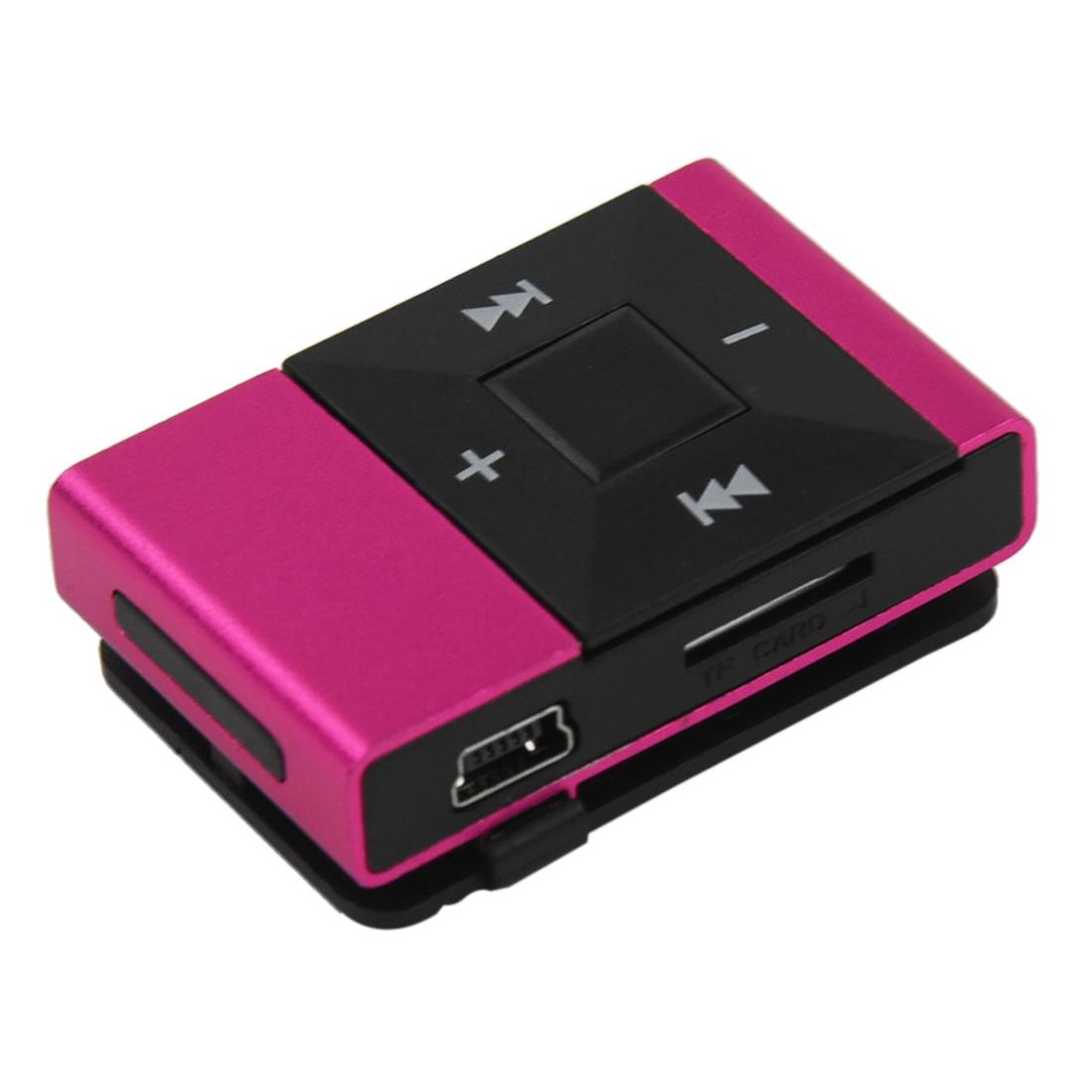 Hifi-geräte Trendmarkierung Mini Tragbare Usb 2.0 Clip Digital Mp3 Musik Player Wiederaufladbare Unterstützung 8 Gb Sd Tf Karte Heißer Eine GroßE Auswahl An Modellen