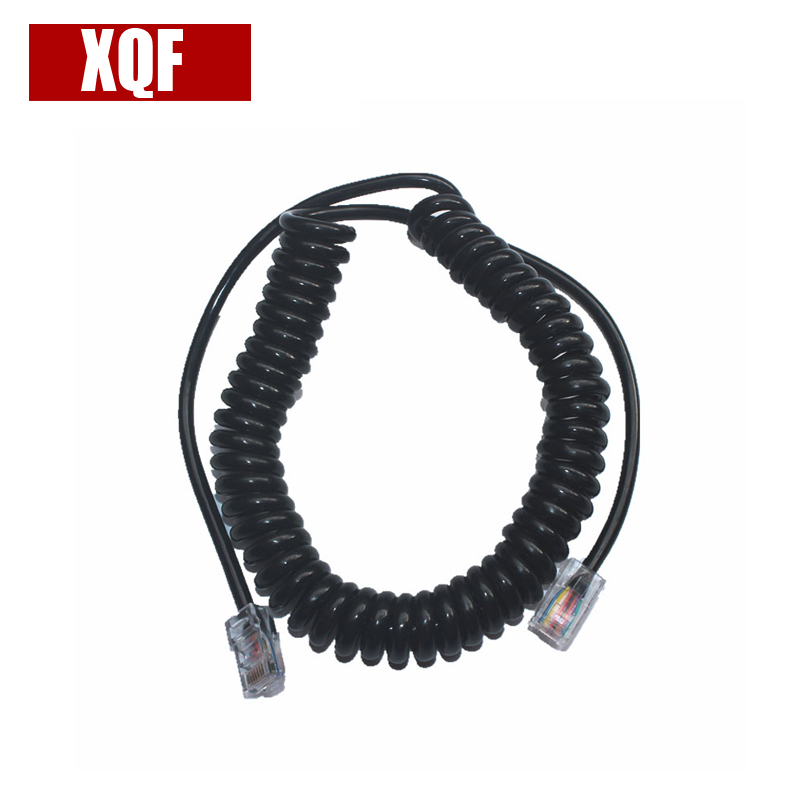 XQF 8PIN To 8PIN Mic Cable LINE For ICOM HM-98 HM-133 HM-133V Radio Speaker