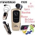 Fineblue f920 chamadas lembrar fones de ouvido sem fio bluetooth fones de ouvido fone de ouvido clipe retrátil vibração auriculares motorista de carro kit