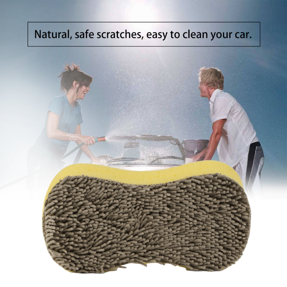 New Multi-Functional Cleaning Tool Car Duster Brush Sponge for Paint tires Wheels rubber parts of the foot washing Drop Shipping