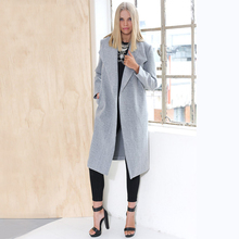 Hot Sale 2016 Spring Autumn Winter Brand Casual Trench Coat for Women Plus Size Long Cardigan Slim Windbreaker Outerwear Coats