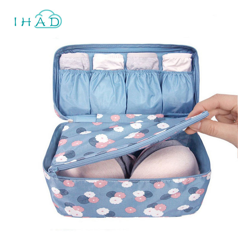 Travel clothes bag swimming bag swimsuit organizer underwear bra packing box makeup organizer for Travel swimsuit