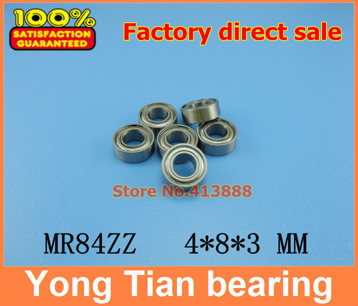 (1pcs) High quality miniature stainless steel deep groove ball bearing (stainless steel 440C material) SMR84ZZ 4*8*3 mm smr115 smr115zz l 1150zz stainless steel 440c deep groove ball bearing 5x11x4 mm miniature bearing mr115