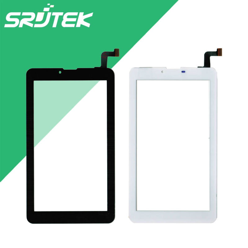 New 7 Inch for Irbis TZ70 4G Capacitive Touch Screen Digitizer Touch Panel Tablet Glass Sensor Replacement Parts Black/White 7 inch black touch screen for irbis tx76 tablet glasss sensor replacement