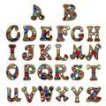 DIY бриллиантовый брелок, бриллиантовая живопись, буквы, A-Y, брелки, вышивка крестиком, женская сумка, брелок, украшение
