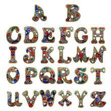 DIY Diamond Keychain Diamond Painting Letter A-Y Keyring Keychains Cross Stitch Embroidery Women Bag Key Chain Decoration