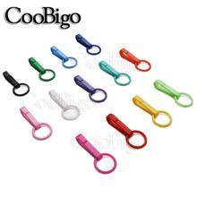 25 шт цветные перчатки крюк пластиковая пряжка, Карабин Крюк с уплотнительным кольцом для сумка для прогулок, рюкзак занавески для душа Запчасти Аксессуары