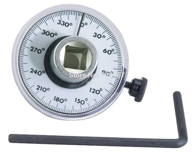 Car 1 2 adjustable drive angle torque gauge auto test for Limited angle torque motor