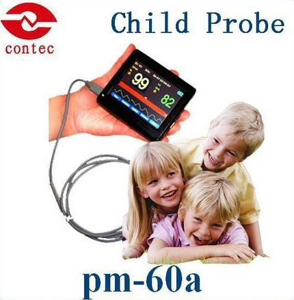 Oximetro de dedo Child PM60A Hand-Held Pulse Oximeter Medical Device With Touch screen Finger Pulse Oximeter tosoku japan east side panel type of hand pulse pulse device encoder re45t v