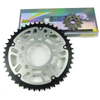 Motorcycle 525 O ring Chain Set Front & Rear Sprocket For Honda XRV 750 1990 2003 1991 1992 1993 1994 1995 1996 1997 1998 1999