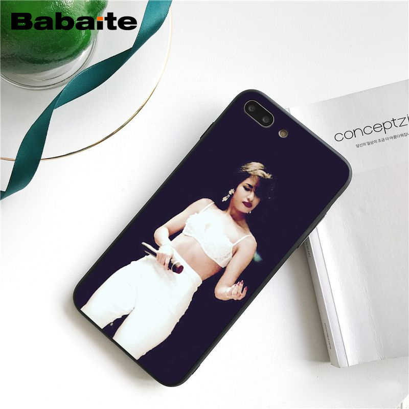 selena quintanilla Customer High Quality Phone Case for iPhone 8 7 6 6S Plus 5 5S SE XR X XS MAX Coque Shell