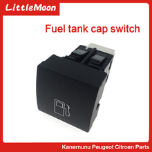 LittleMoon Fuel tank switch fuel cap open button for Citroen C-QUATRE C4 hatchback Five doors