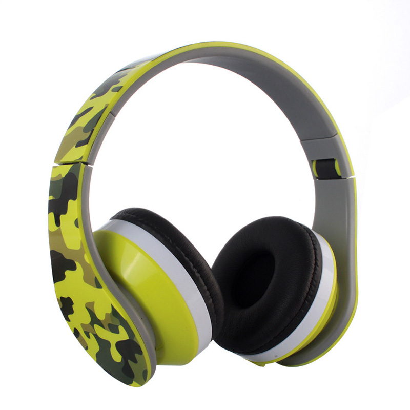 Bluetooth Headphones Over Ear, Wireless Headset, Sports music headset Built-in Mic for PC/ Cell Phones/ TV