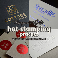 Custom Process Hot Stamping Process Envelope LOGO Invitation Personalized Signature Company Logo Card Multicolor Optional