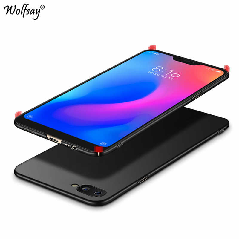 buy online a45cd 3f5fc Wolfsay Matte PC Case Oppo A3S Case Fashion Luxury Plastic Cell Phone Cover  For Oppo A5 Cover For Oppo A3S OppoA3S Case CPH1803