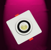 Free Shipping 30PCS LOT Dimmable COB 1x7W 2x7W LED Downlight LED Ceiling Lamps LED Recessed Light