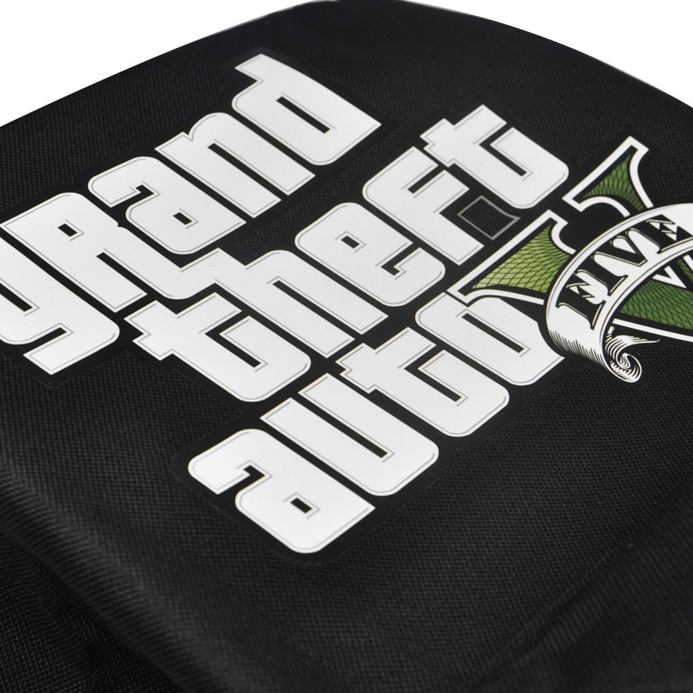 New Fashion Grand Theft Auto მამაკაცის ტილო - ზურგჩანთა - ფოტო 3