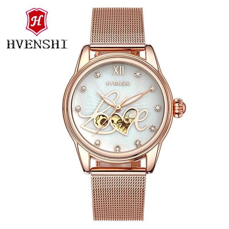 woman gold watch KEEP MOVING women top famous Brand Luxury Casual Automatic Mechanical Watch relogio feminino стоимость