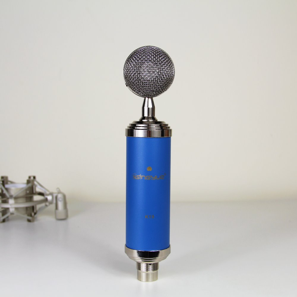 ФОТО Vogue Style  Professional Condenser Microphone for Broadcasting & Recording - Blue