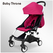babythrone stroller ultra lightweight folding can sit four rounds shock baby carts Russia free shippin