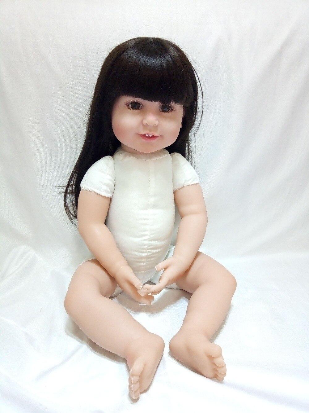 Muñecas de bebés renacidos de silicona rosa vestido de vinilo rojo - Muñecas y accesorios - foto 6